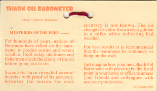 Shark Oil Barometer Description 1